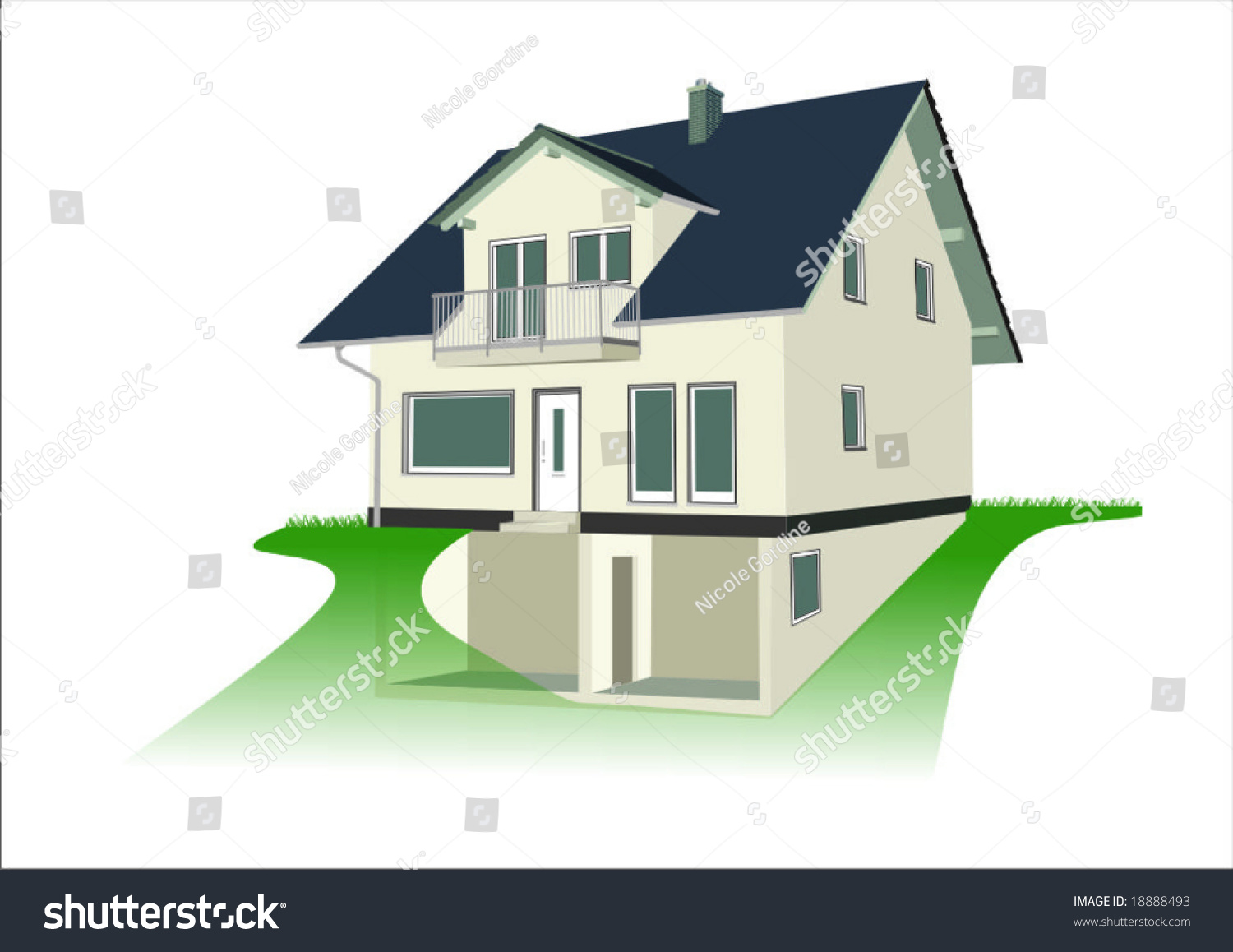 clipart house shutters - photo #48
