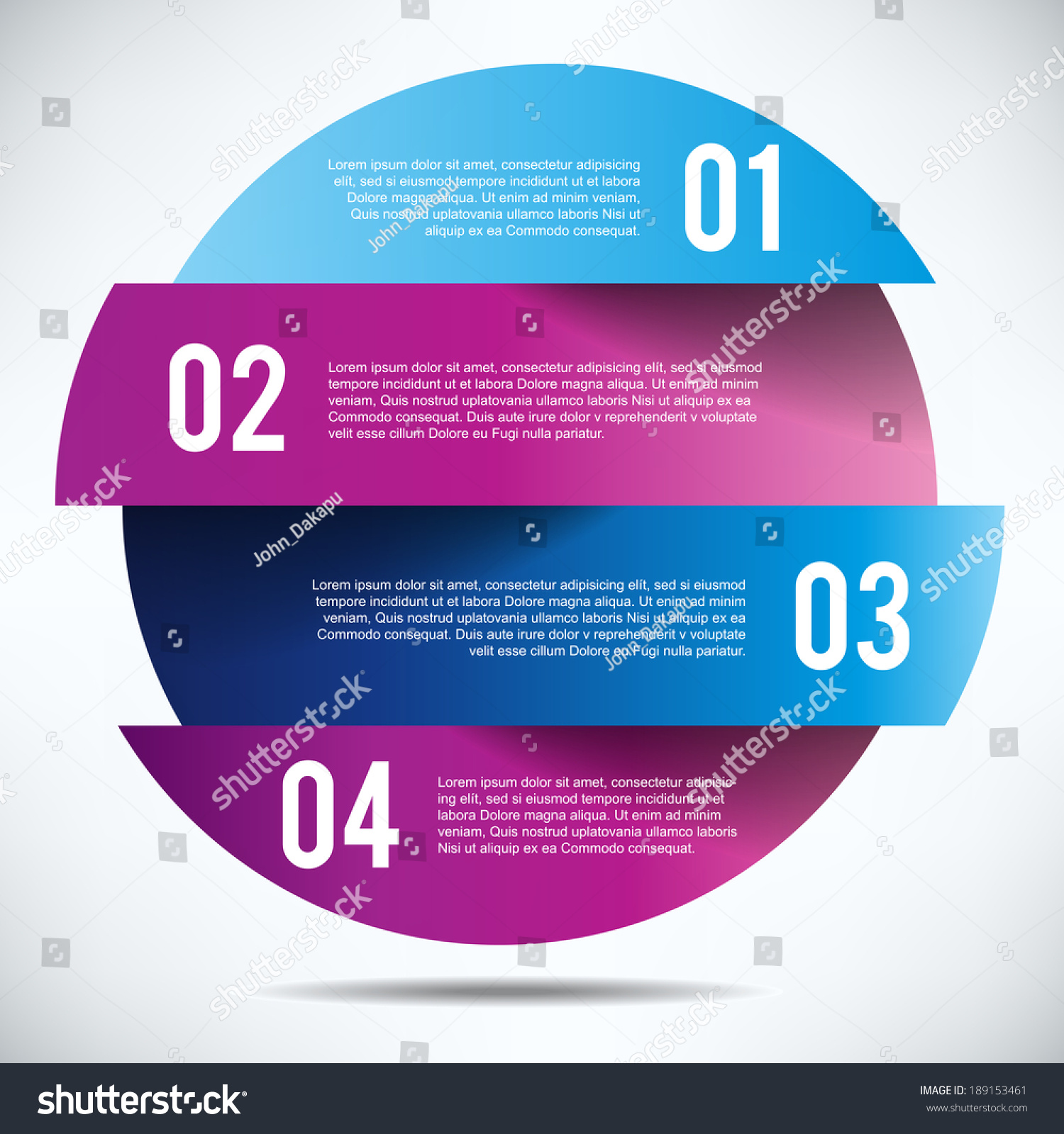 Colorful banner design template text stock vector - Text banner design ...