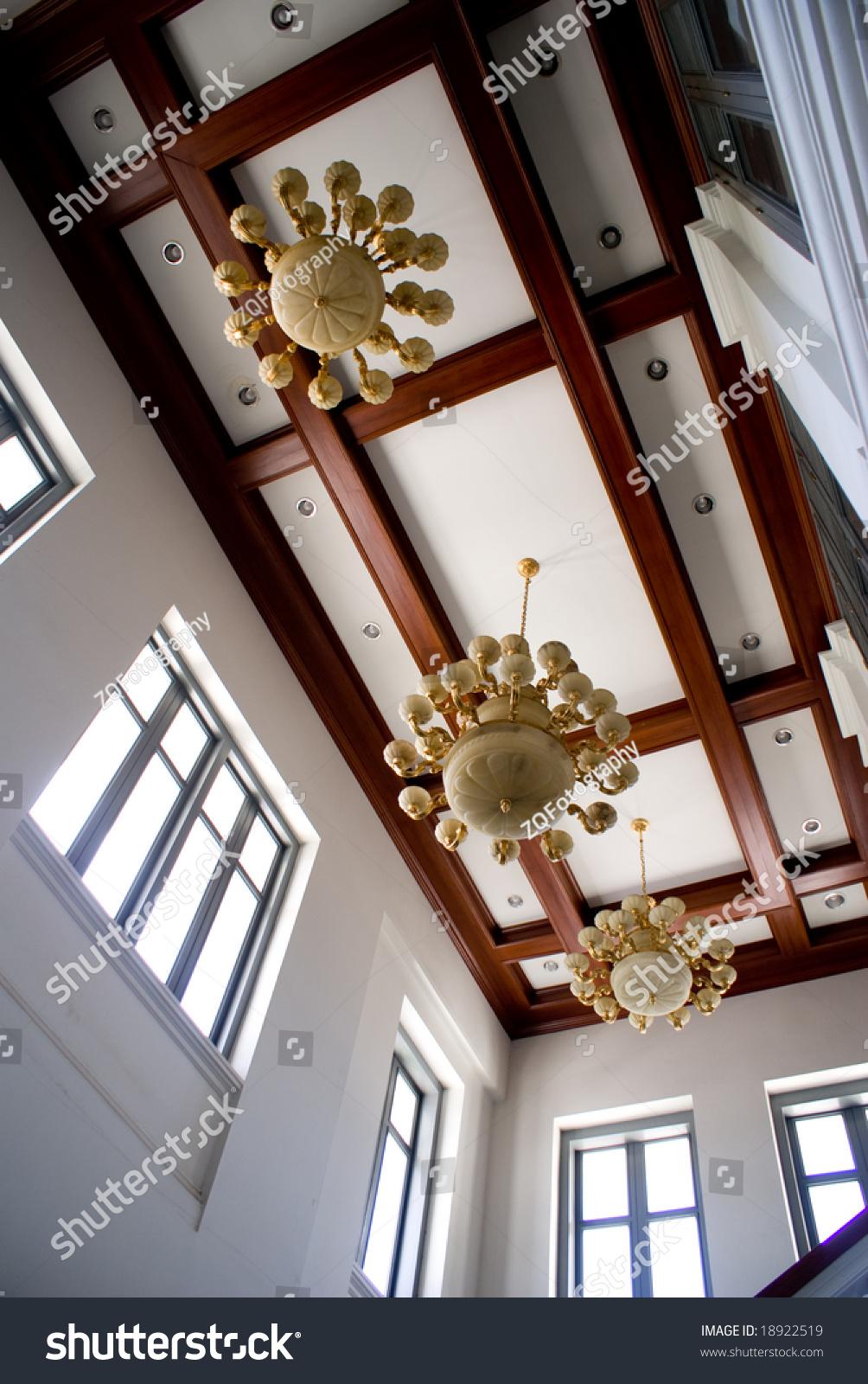 Interior Design In Royal Grand Palace Bangkok Thailand