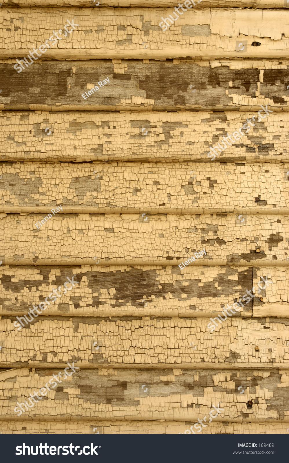 Urban Texture 5 Beige Paint Peeling On Home Exterior Stock Photo 189489 Shutterstock