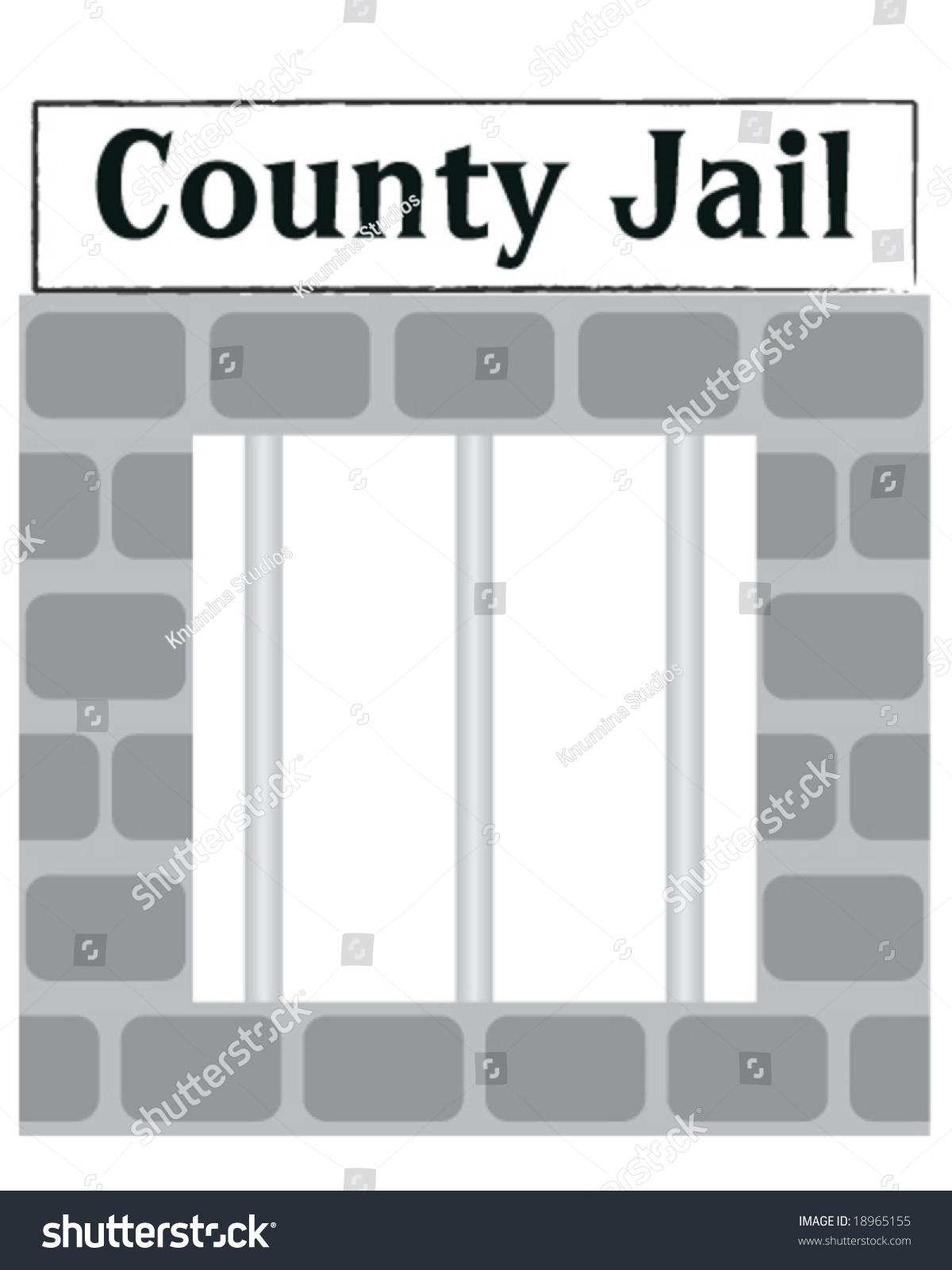 Vector County Jail Cell Window Bars Stock Vector 18965155 ...