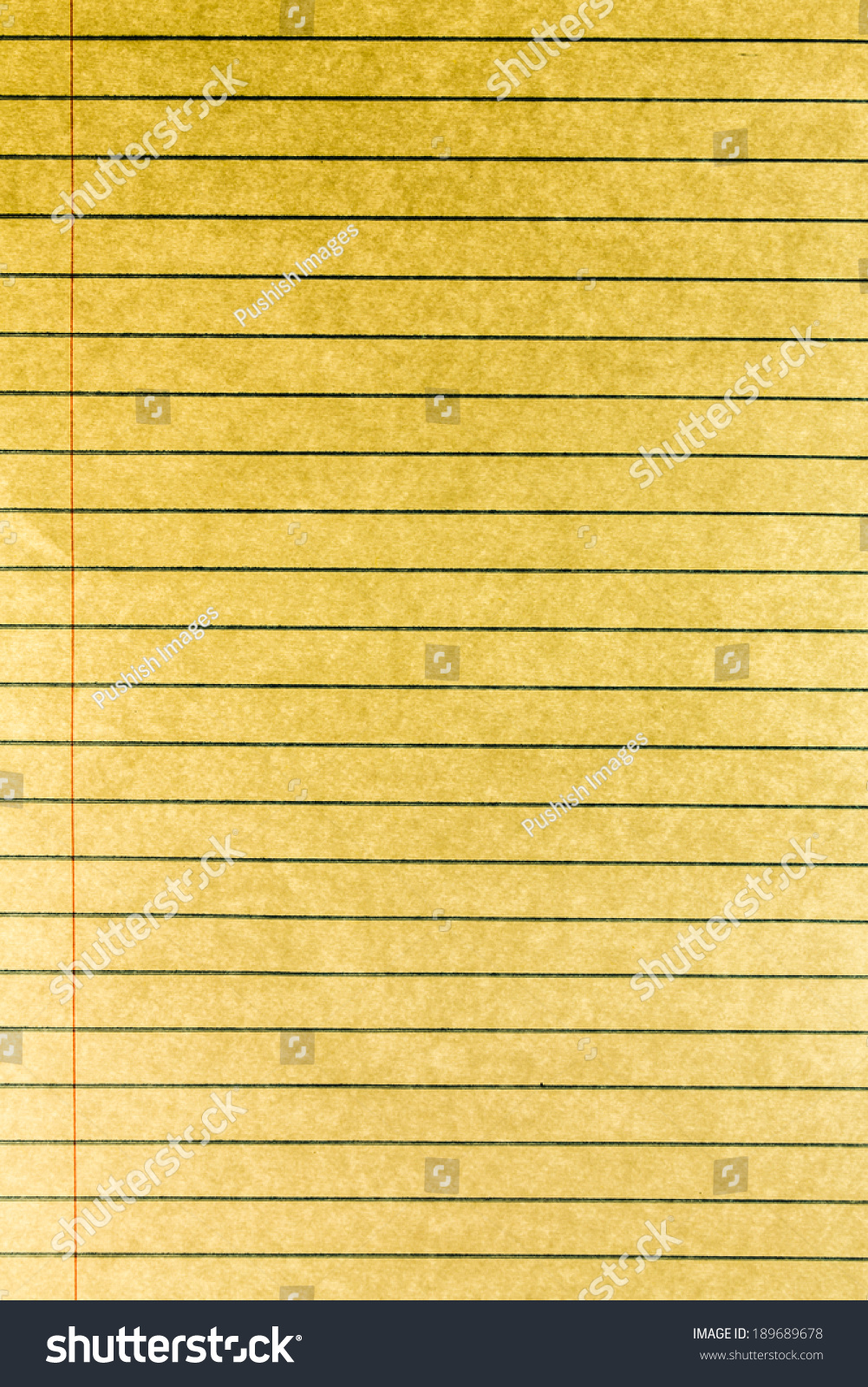 yellow notebook paper background stock photo (edit now) 189689678
