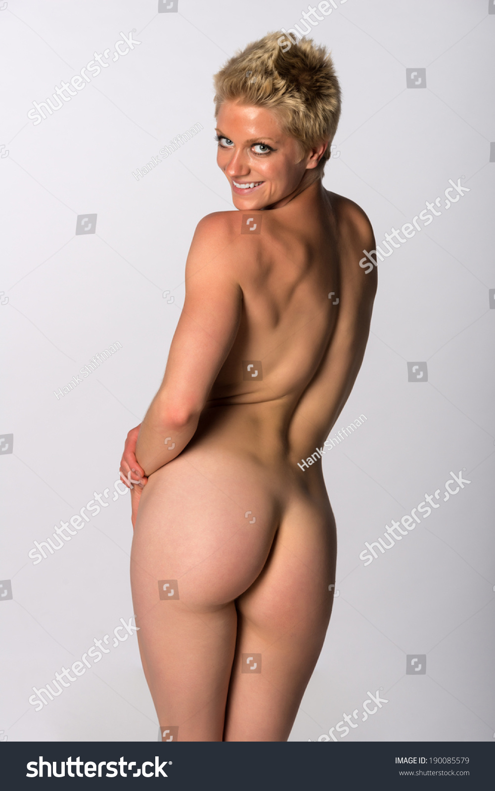 Athletic wife nude