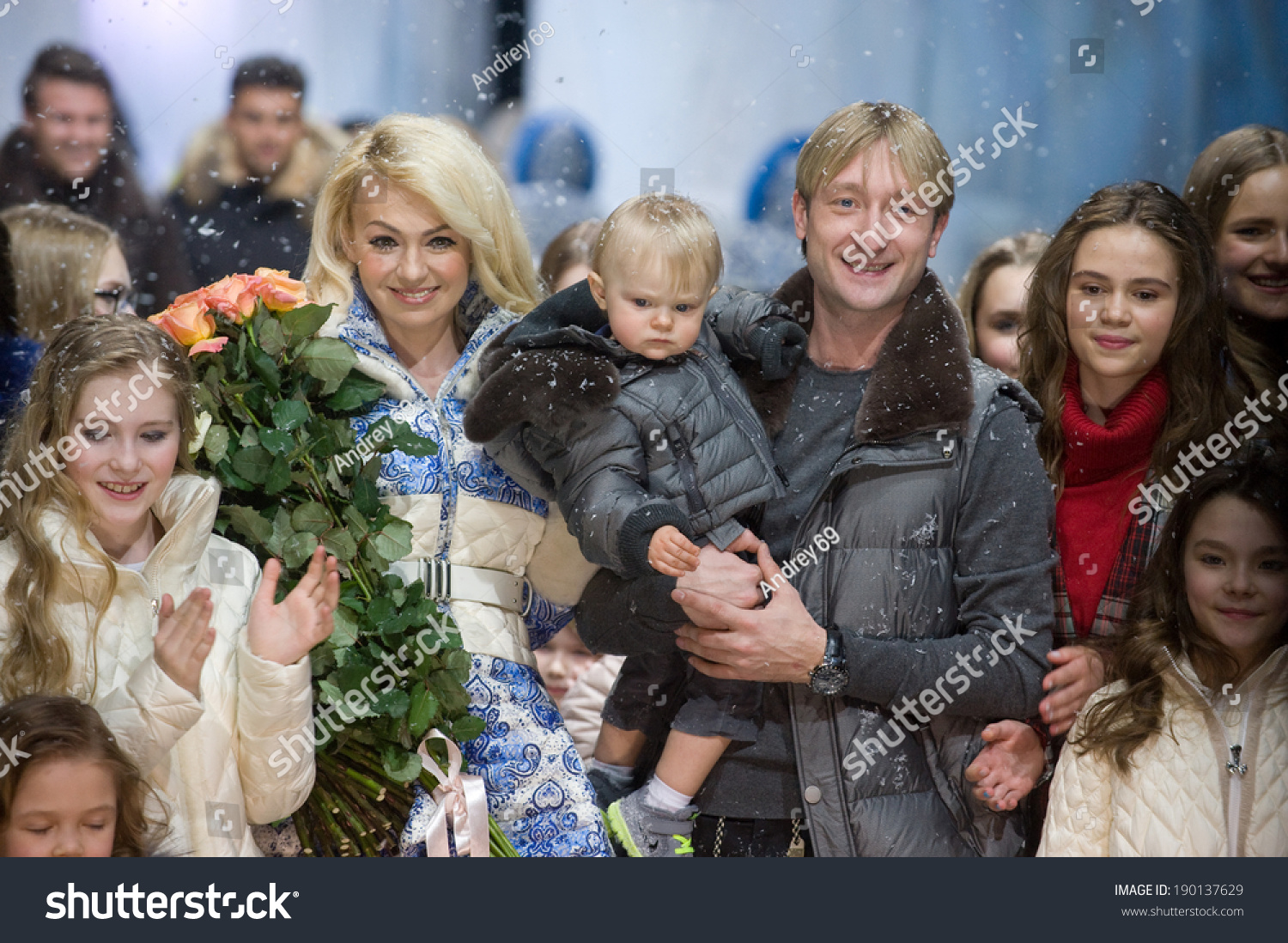 Plushenko and Rudkovskaya will shoot a reality show about their family life 04/12/2017 73