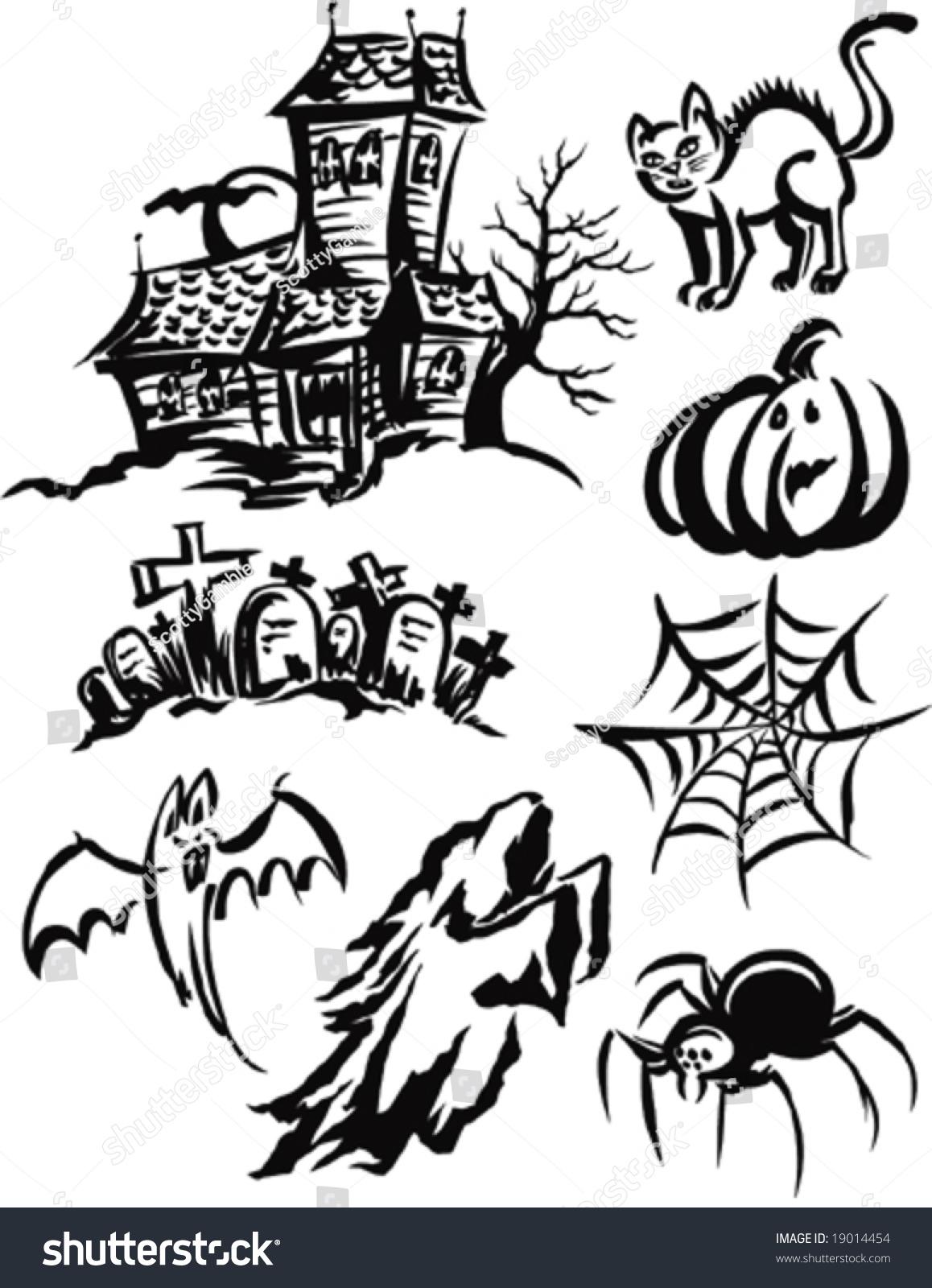 Halloween Vectors halloween halloween vector background banners pumpkin head zombie hand halloween symbols Halloween Vectors 19014454 Shutterstock