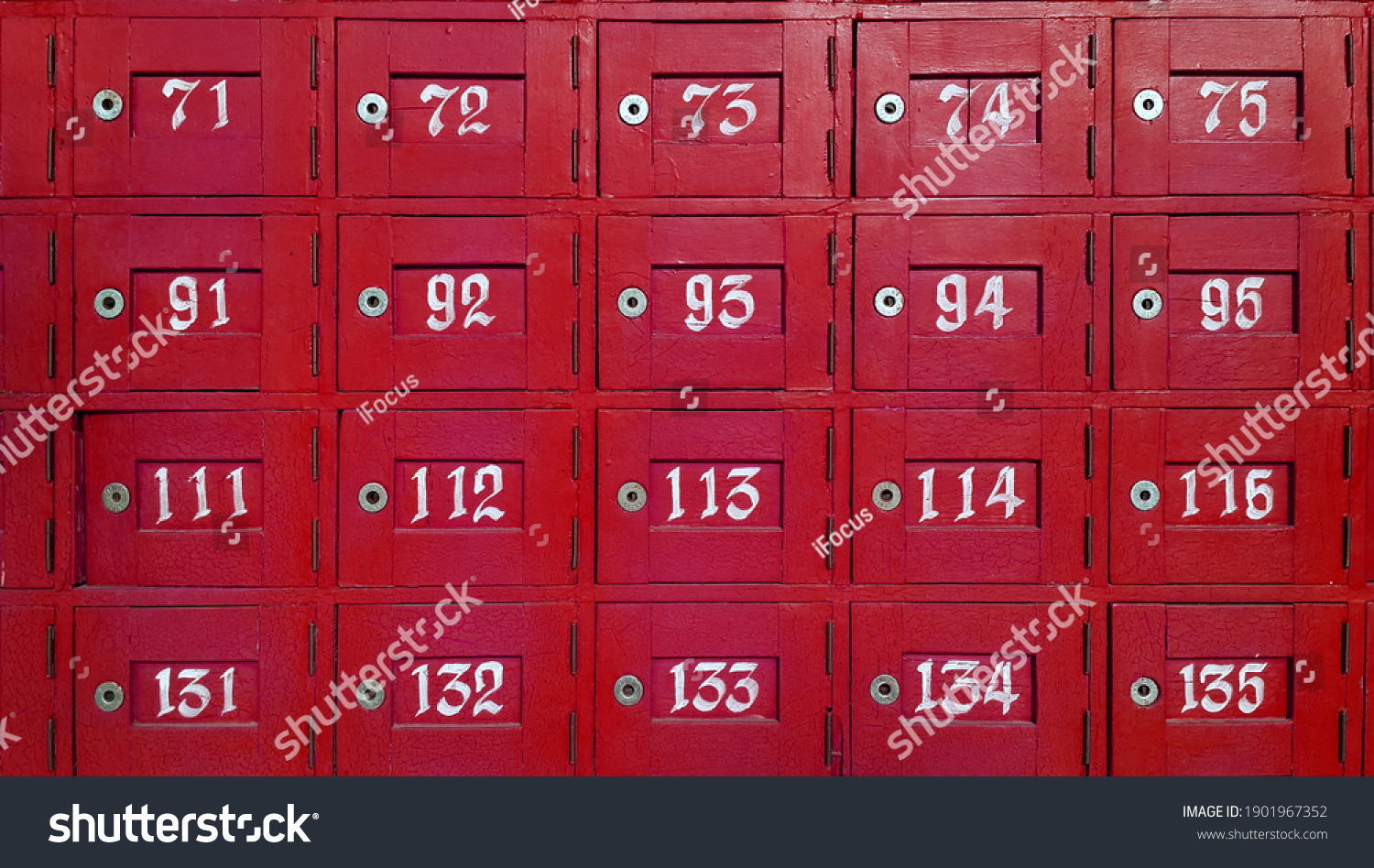 stock-photo-colorful-wood-post-box-and-n