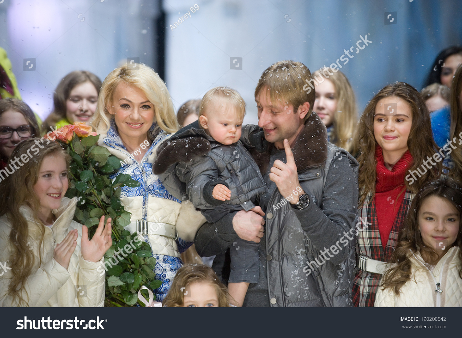 Plushenko and Rudkovskaya will shoot a reality show about their family life 04/12/2017 49