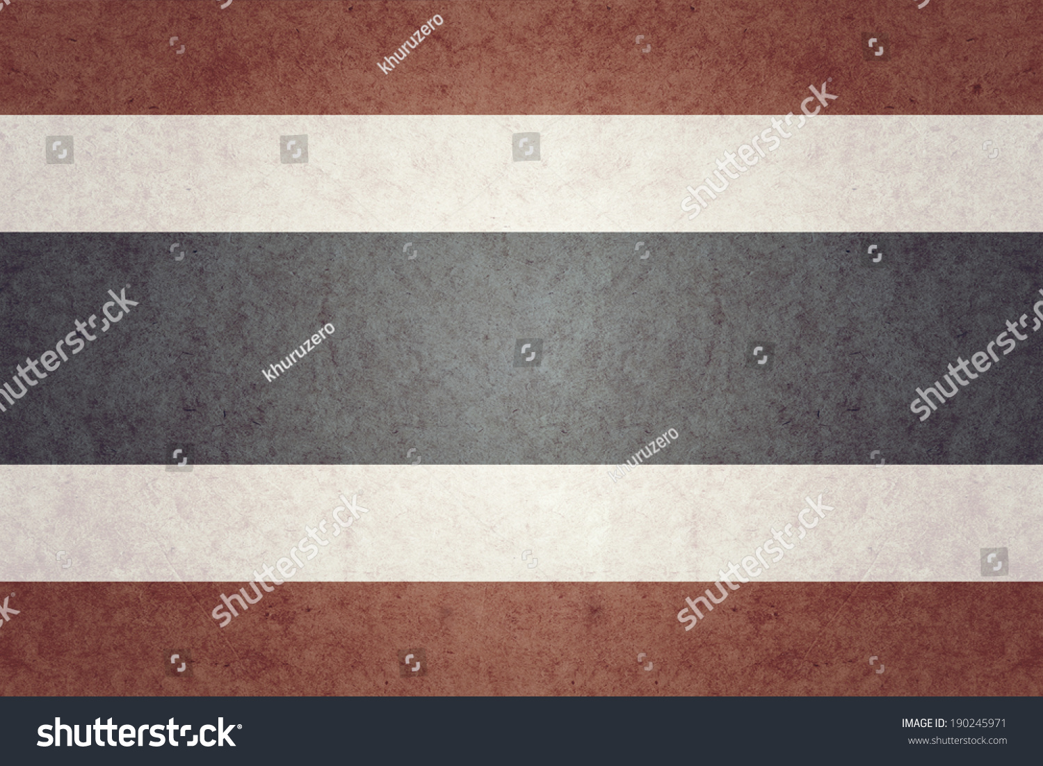Royalty Free Stock Illustration of Thailand Flag On Old Paper