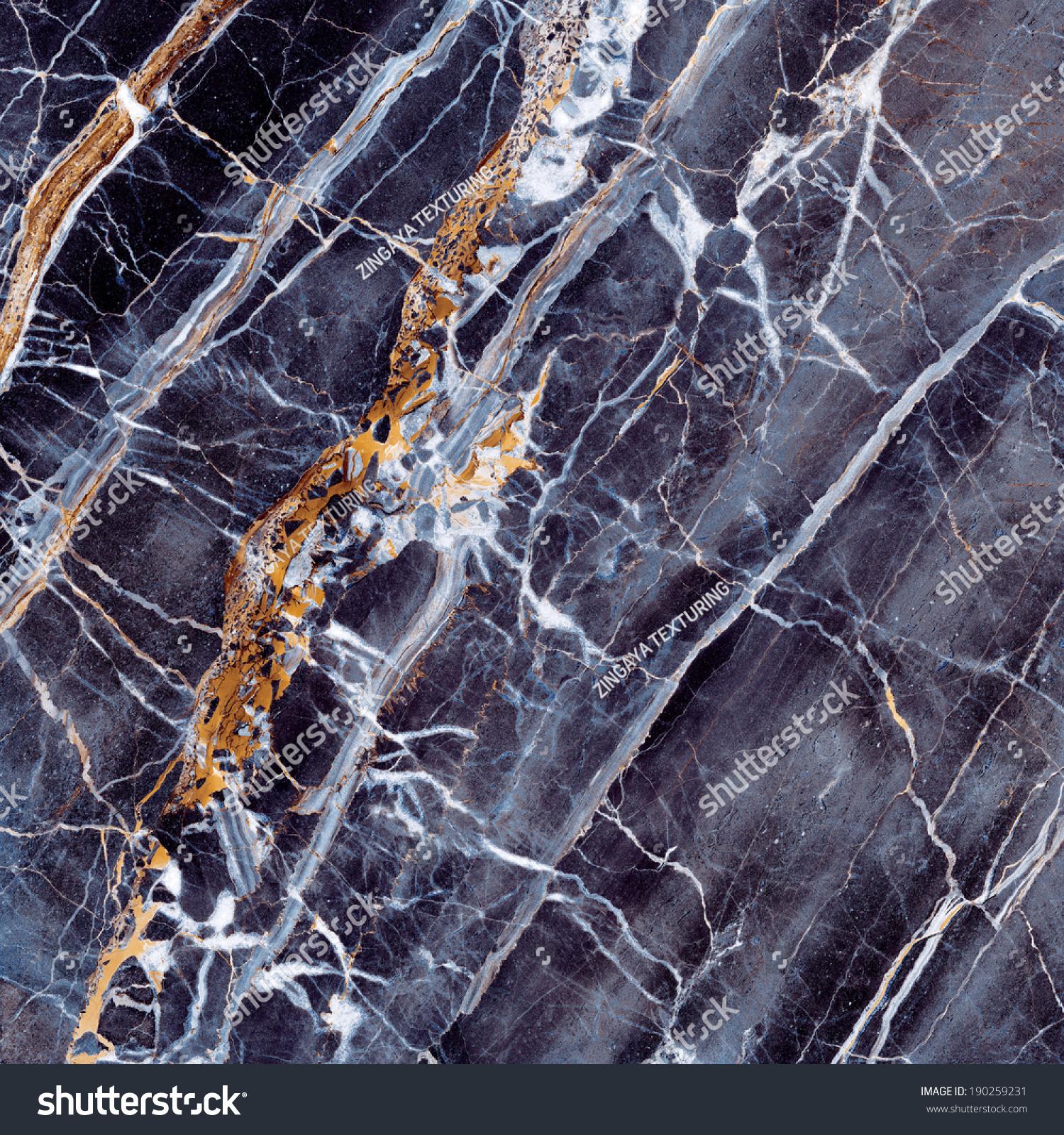 Marble Stone Background : Marble texture black blue stone background stock photo