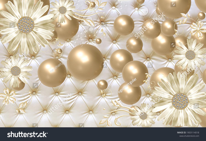 Custom made 3d optical illusion wallpaper designs
