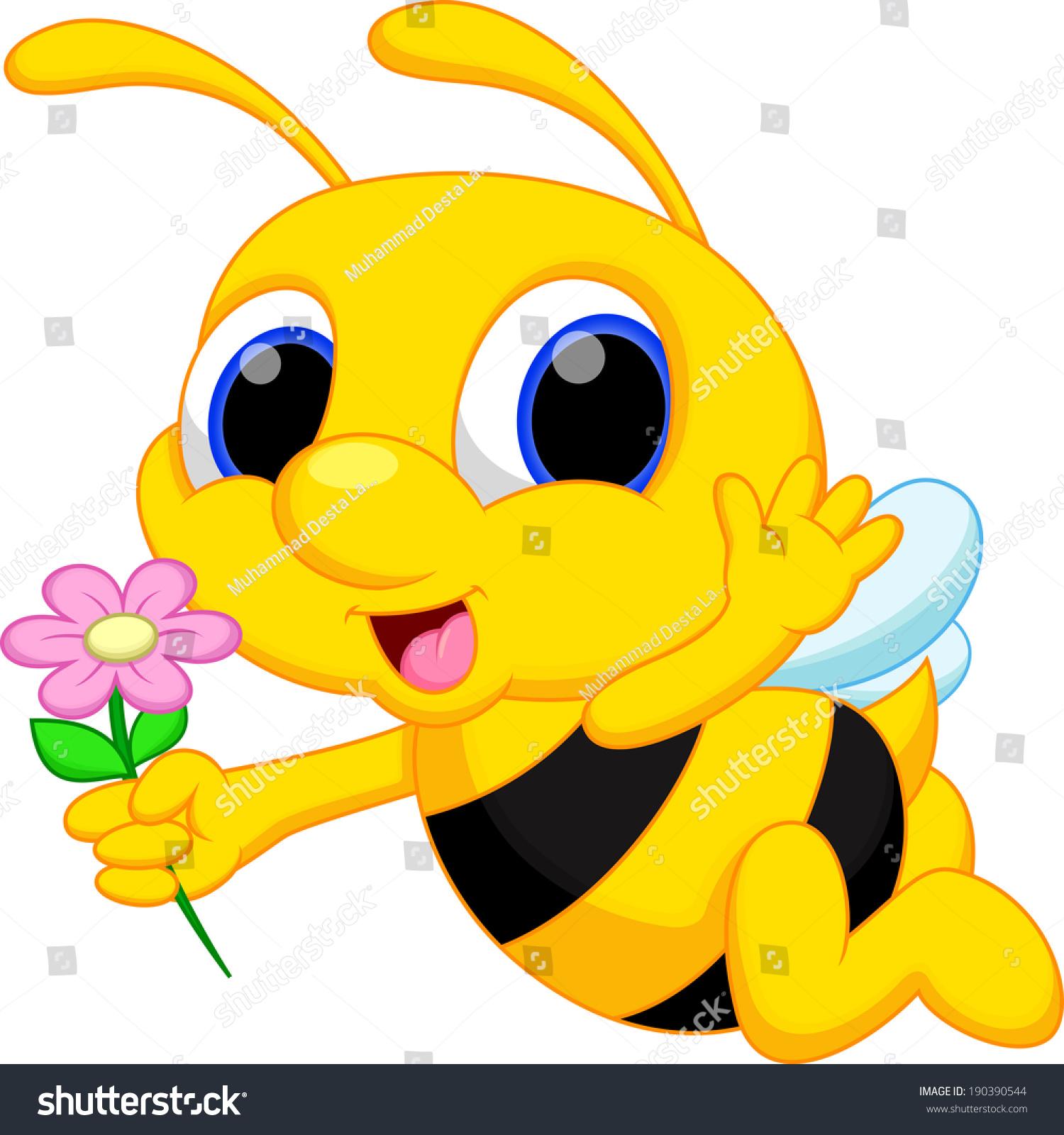 Cartoon bees flying - photo#27
