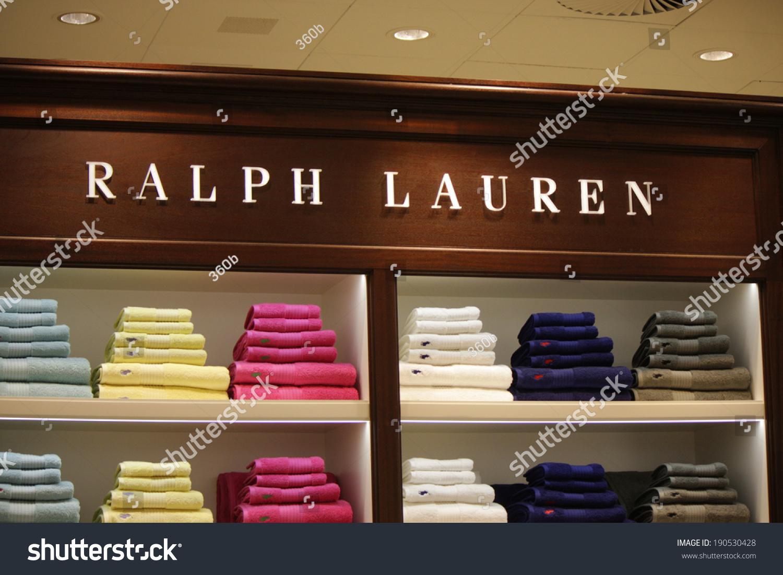 circa march 2014 berlin the logo of the brand ralph lauren berlin stock photo 190530428. Black Bedroom Furniture Sets. Home Design Ideas
