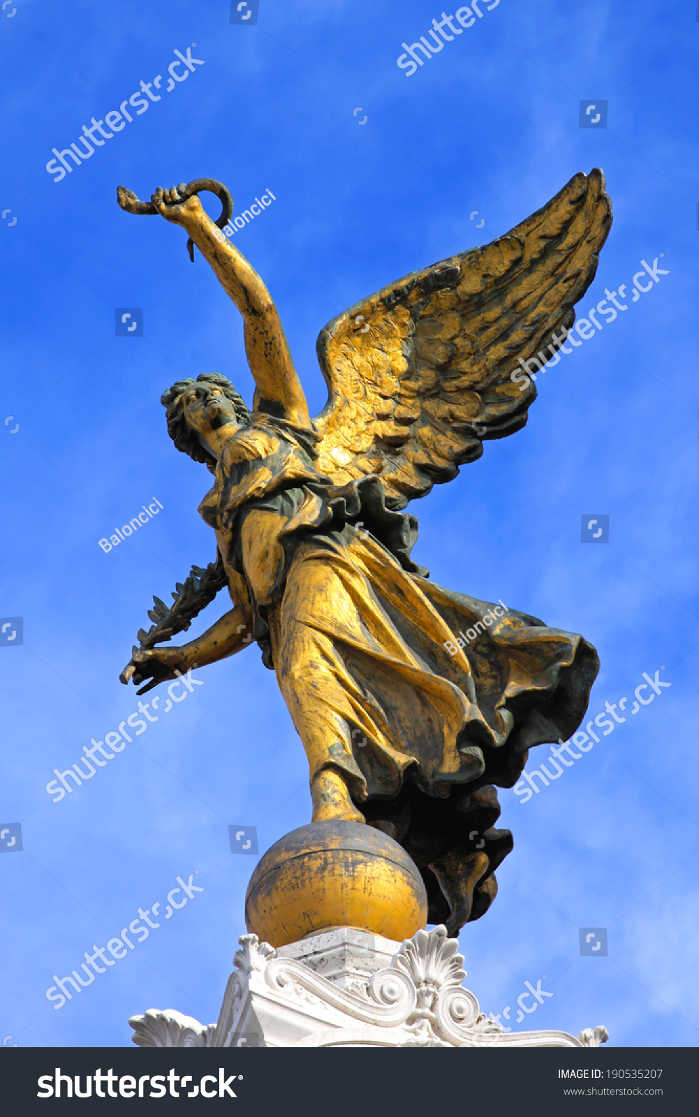 Rome italy october 25 winged victory stock photo 190535207 rome italy october 25 winged victory statue in rome on october 25 biocorpaavc