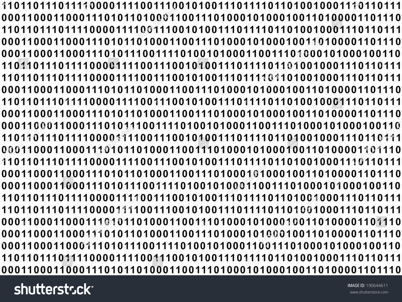 The binary code