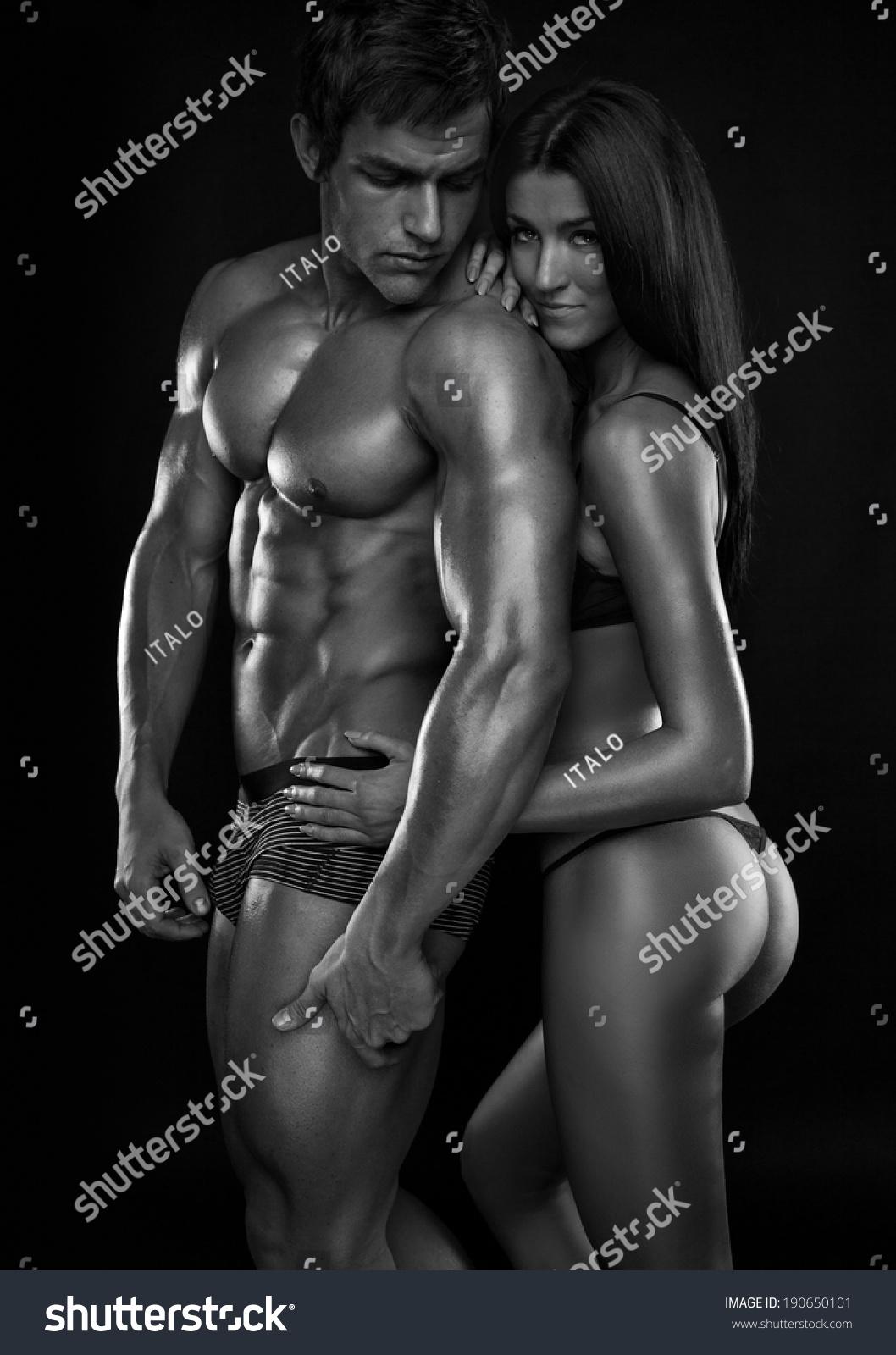 Girl muscle naked