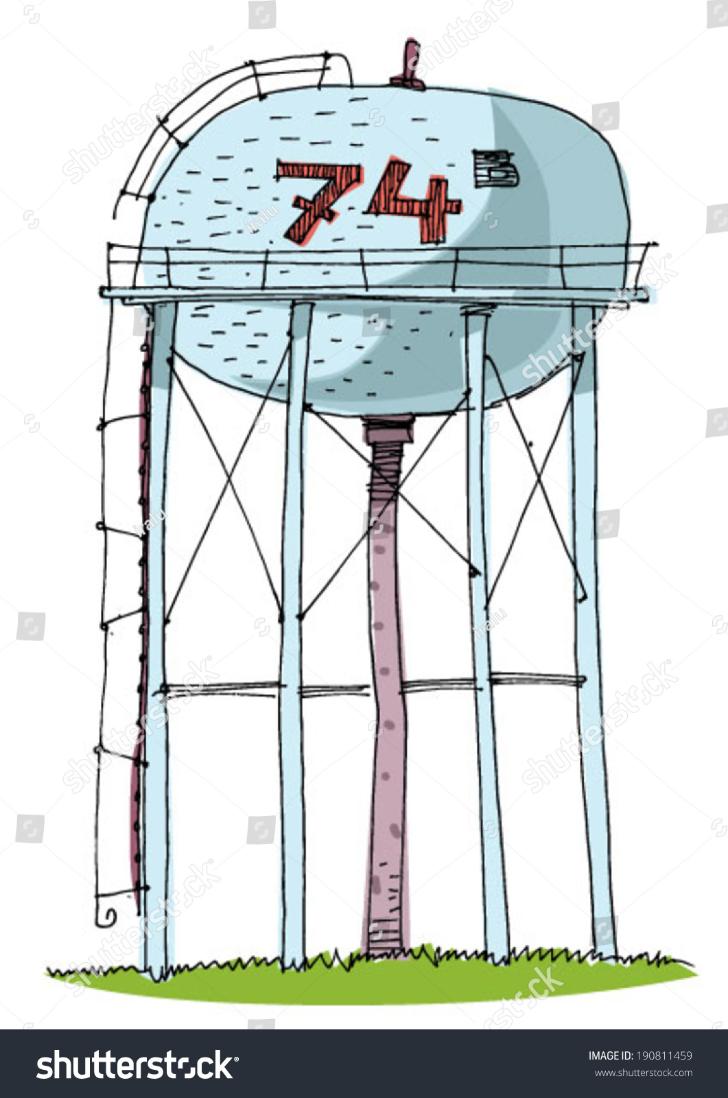 Showing post & media for Cartoon water tower | www.cartoonsmix.com