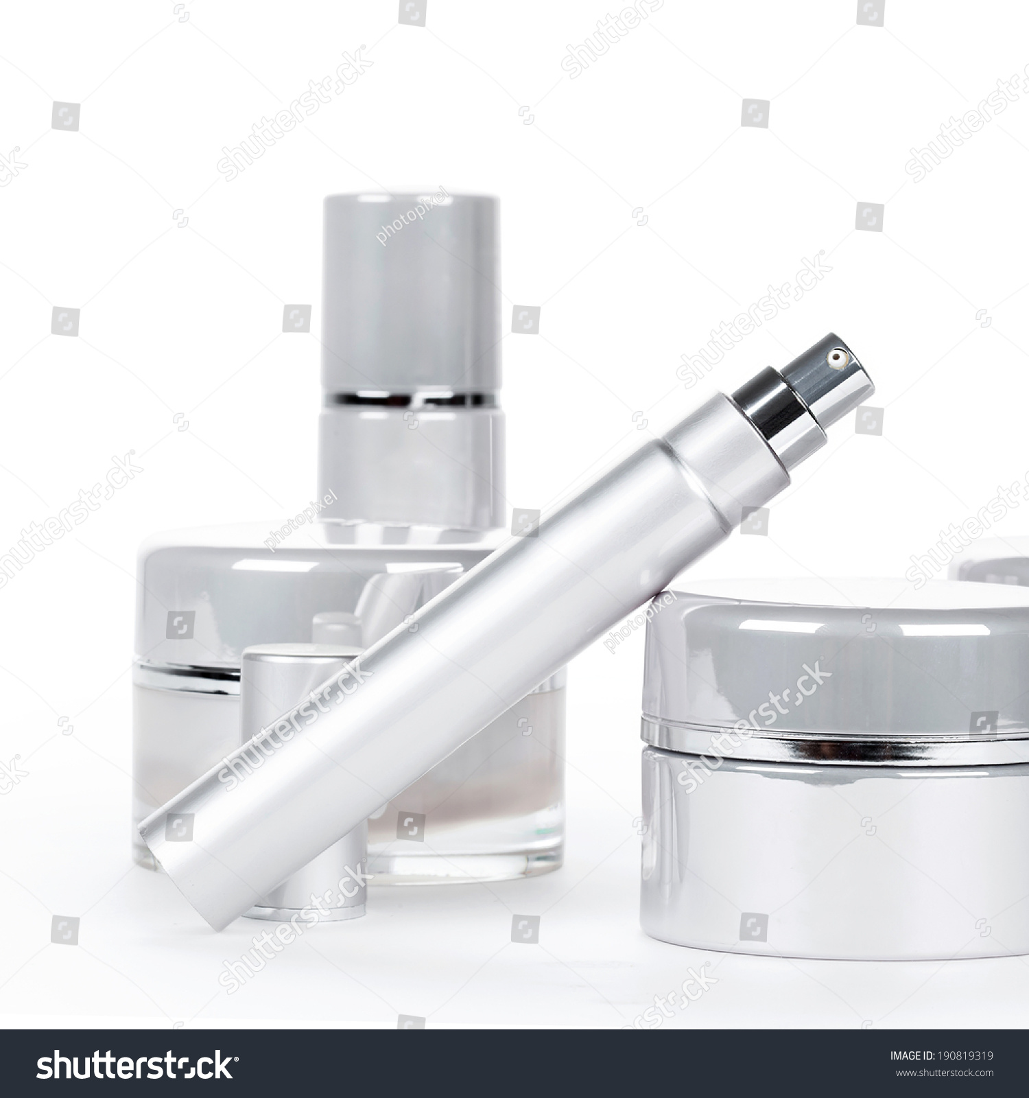 collection skincare spa products beauty concept stock photo 190819319 shutterstock. Black Bedroom Furniture Sets. Home Design Ideas