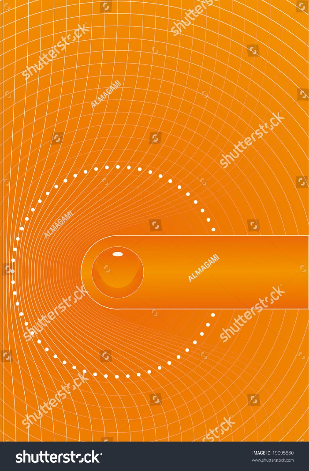 orange title page design vector portfolio stock illustration orange title page design vector in portfolio