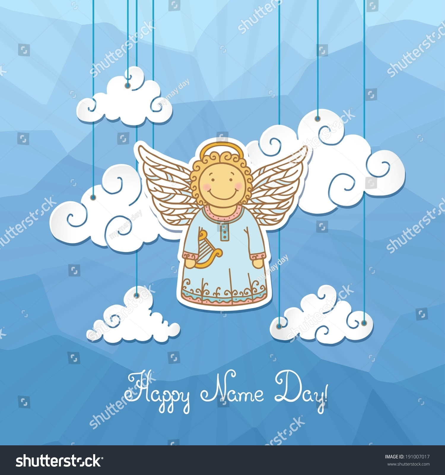 Name Day - Angel Day. Congratulations on Angel Day 43