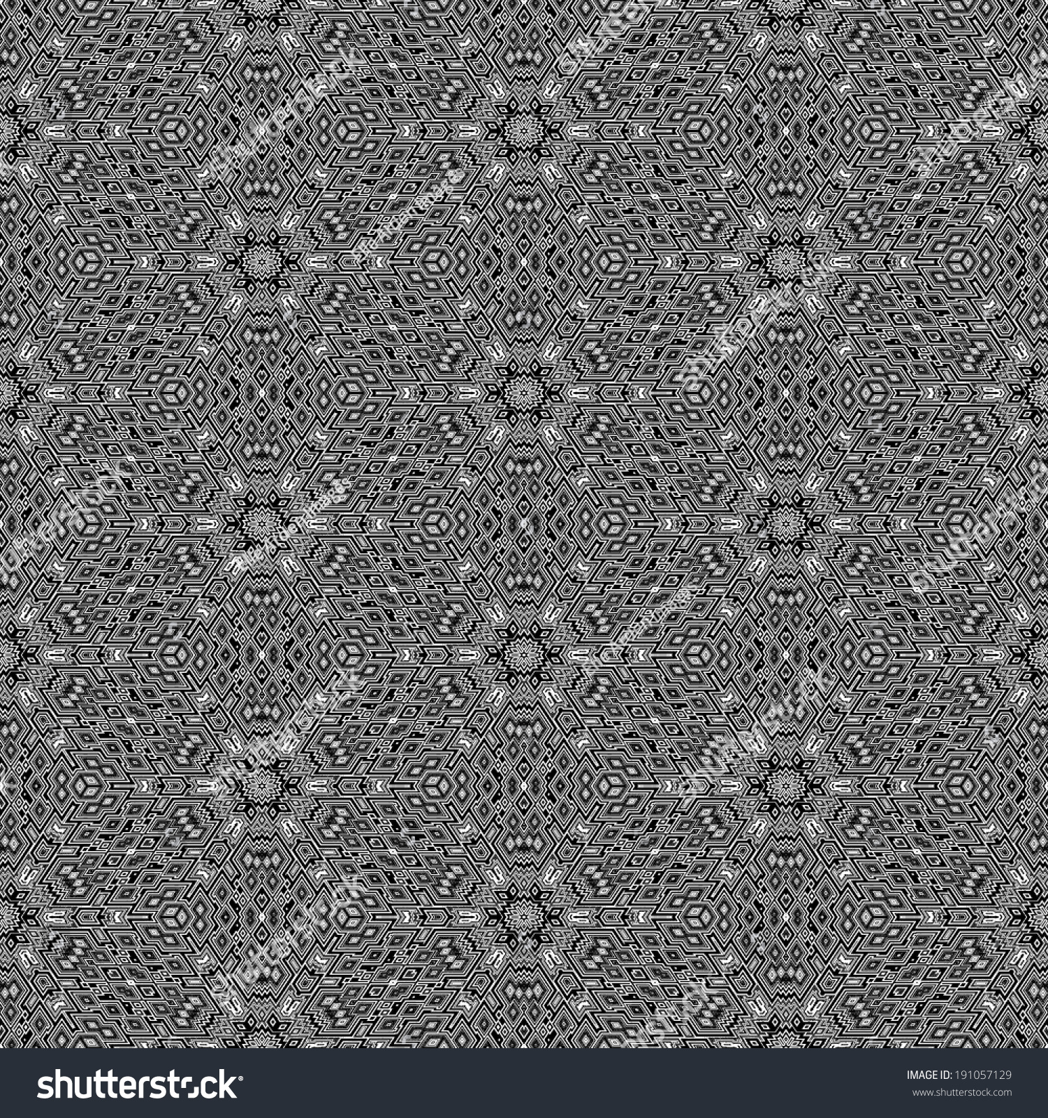 Seamless tile black white abstract pattern stock illustration a seamless tile of a black and white abstract pattern in the style of m c escher doublecrazyfo Images
