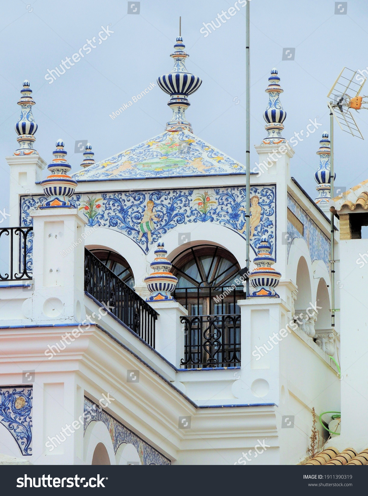 stock-photo-el-rocio-spain-june-a-house-