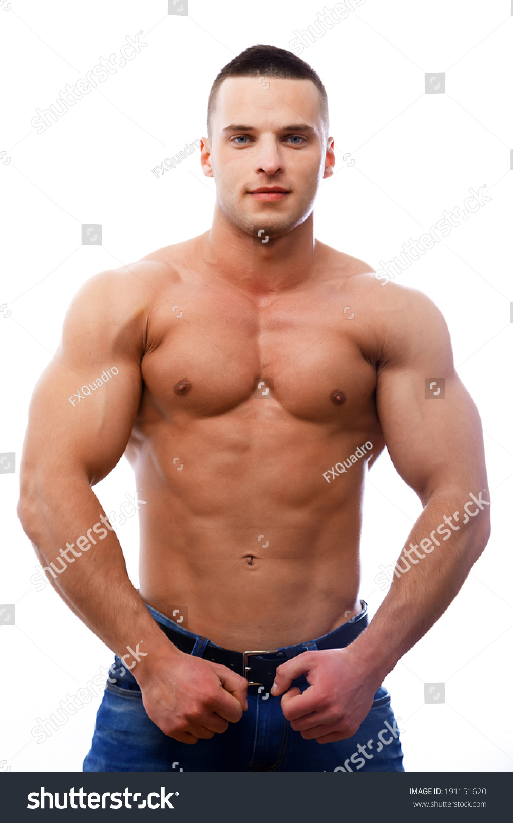 naked man fit body stock photo (royalty free) 191151620 - shutterstock