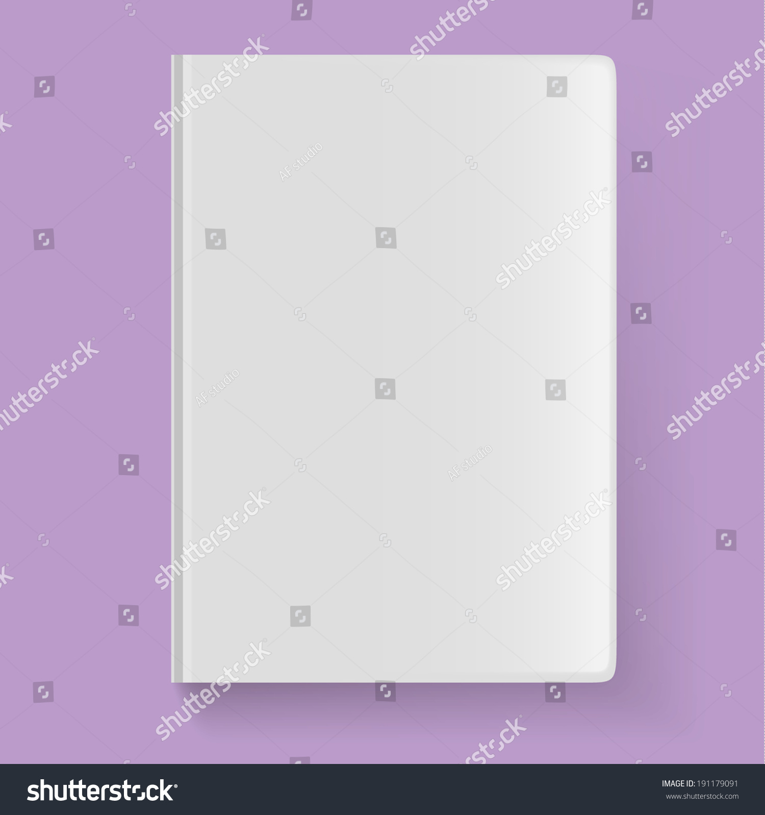 Blank Book Cover Vector Illustration Free ~ Blank book cover vector illustration