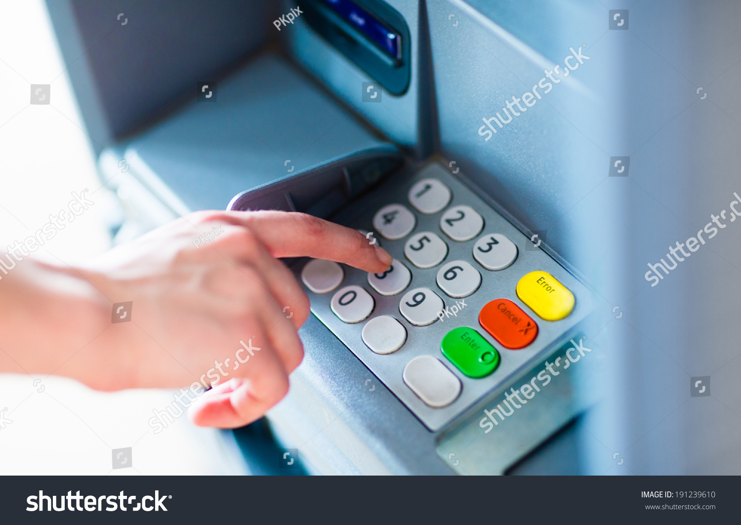 how to break atm machine code