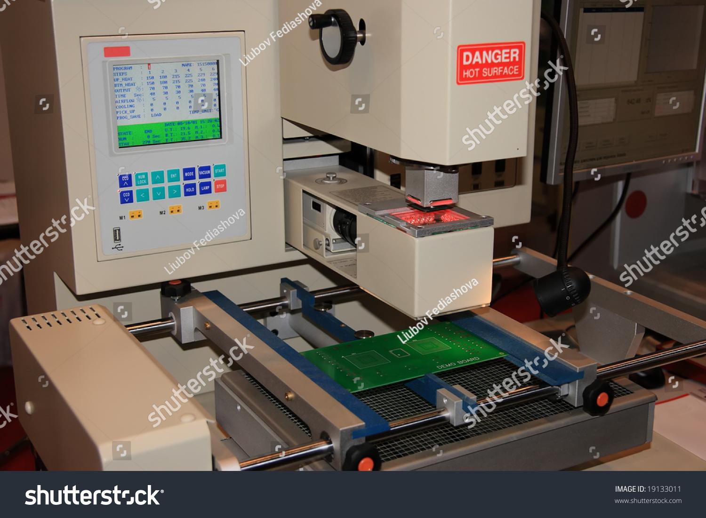 Electronics Assembly Station : Electronics rework station for chip assembly dismantling