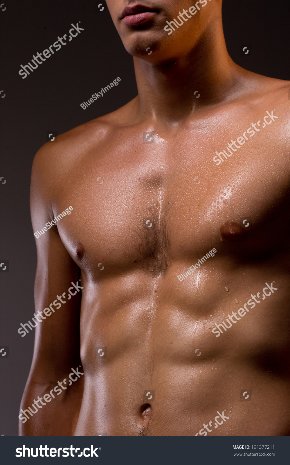 Muscular Torso Naked Muscular Torso Athletic Stock Photo Edit Now