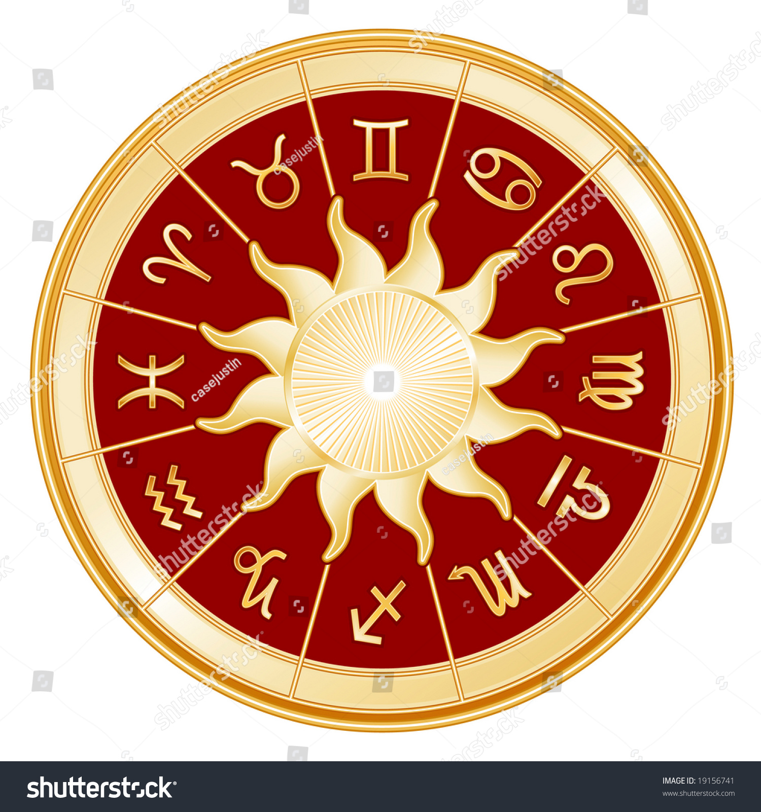 horoscope signs zodiac 12 astrology symbols stock illustration 19156741 shutterstock. Black Bedroom Furniture Sets. Home Design Ideas