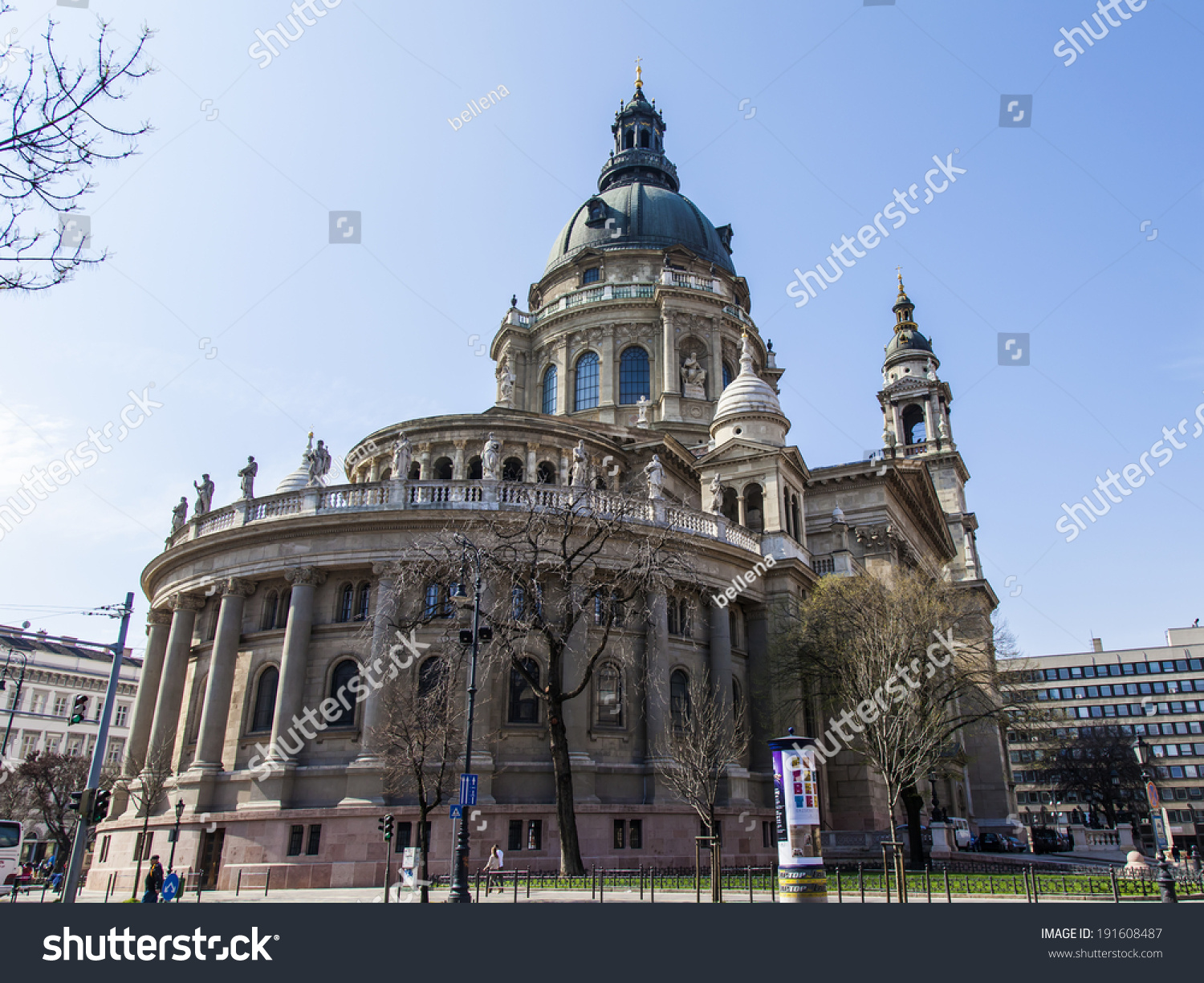 Budapest Hungary March 22 2014 Basilica Of St Stephen One Of