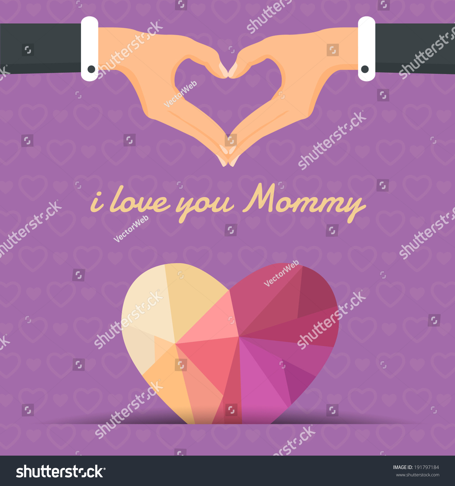 Happy Mother'S Day Vector Design. Announcement And
