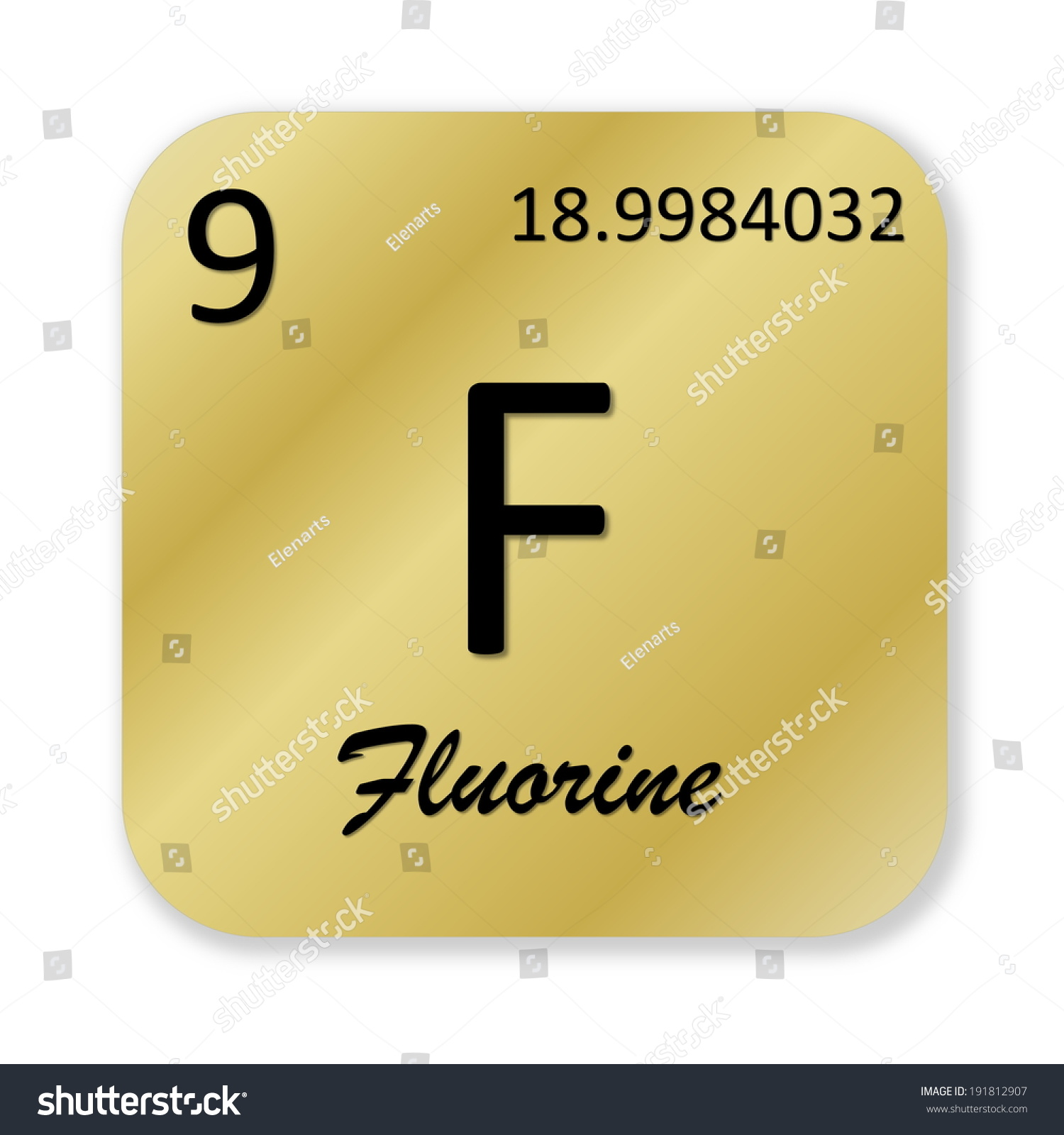 Fluorine in the periodic table image collections periodic table image gallery of fluorine periodic table square fluorine individual element of the periodic table square sticker gamestrikefo Gallery