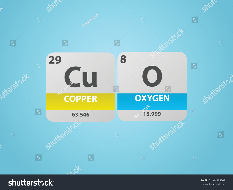 stock-vector-copper-oxide-cuo-molecule-s