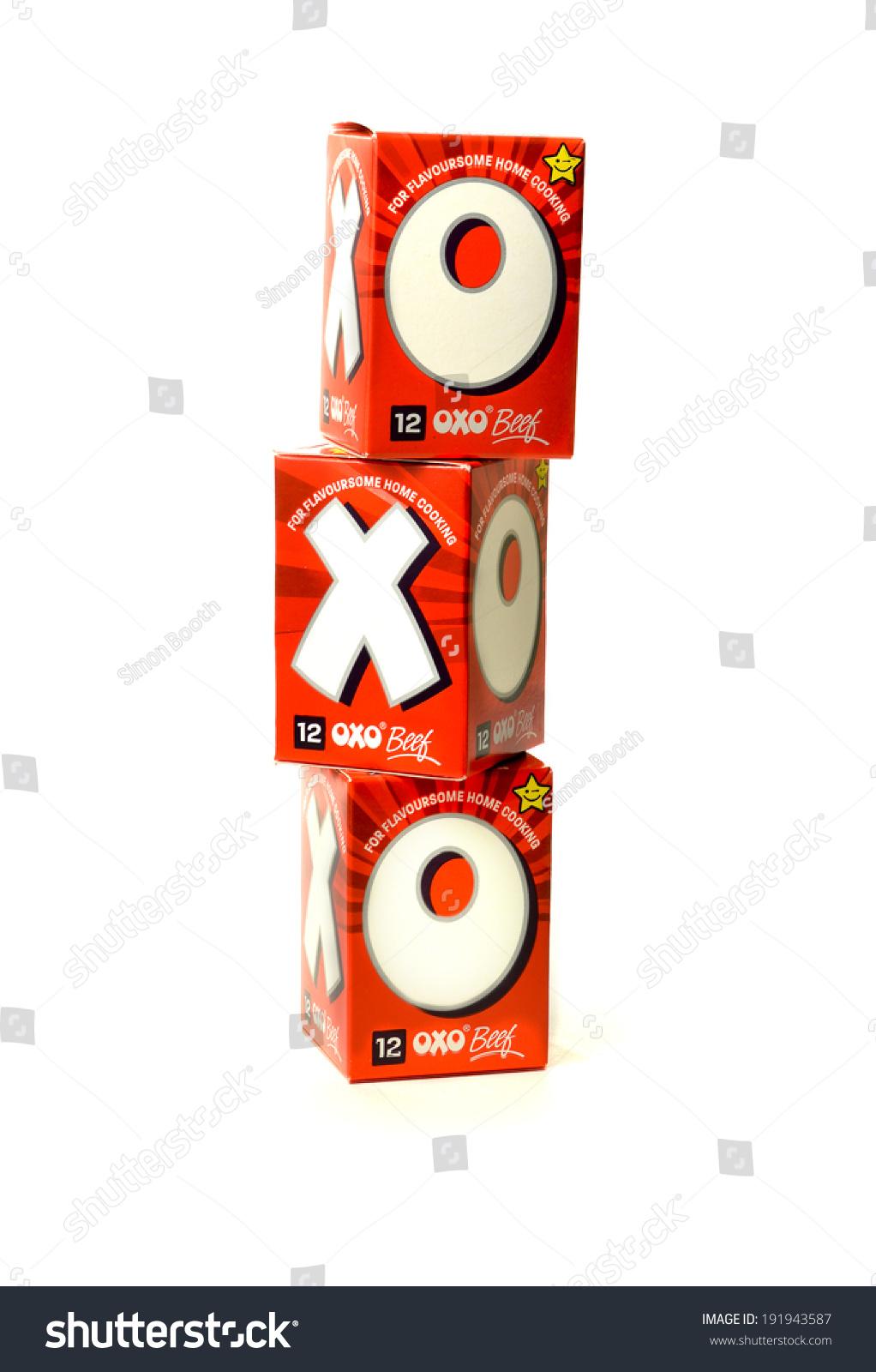 Nottingham united kingdom may 10 2014 stock photo 191943587 nottingham united kingdom may 10 2014 boxed cartons containing oxo cubes buycottarizona Gallery