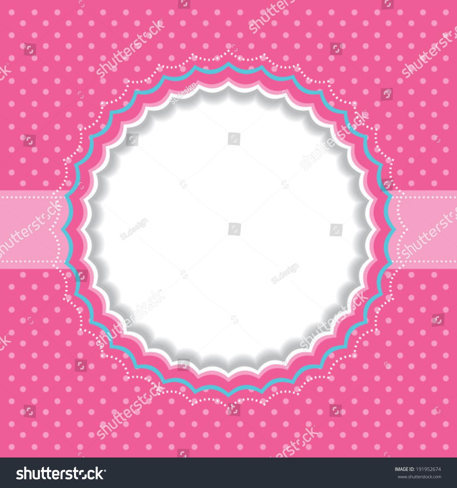 Polka dot frame | EZ Canvas