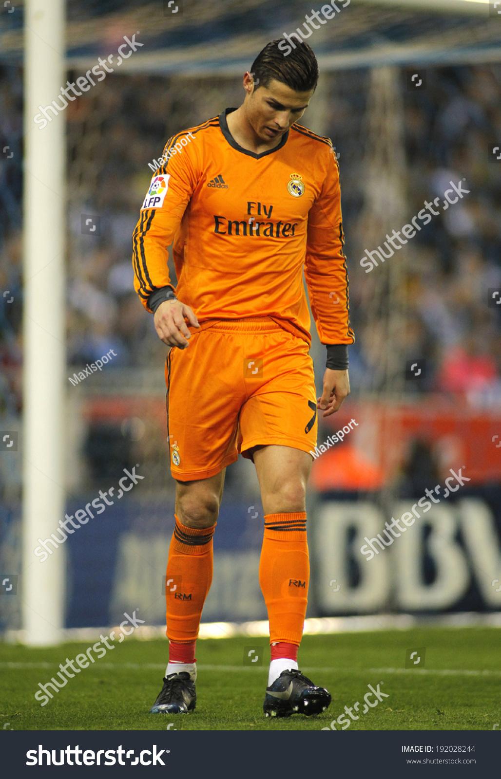 1a4f643db BARCELONA JAN 12 Cristiano Ronaldo Real Stock Photo (Edit Now ...