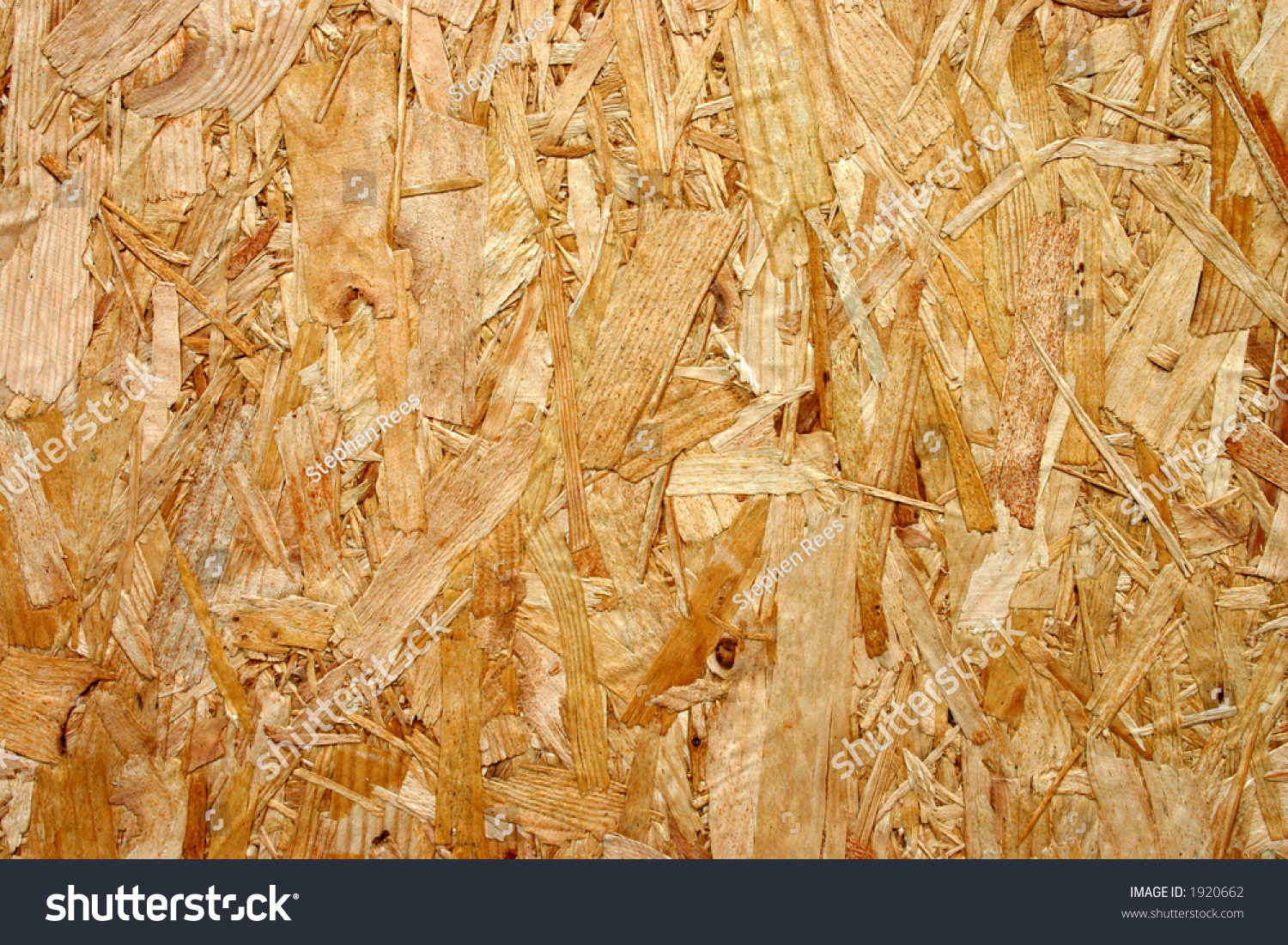 Compressed Recycled Wood Board Makes Good Stock Photo