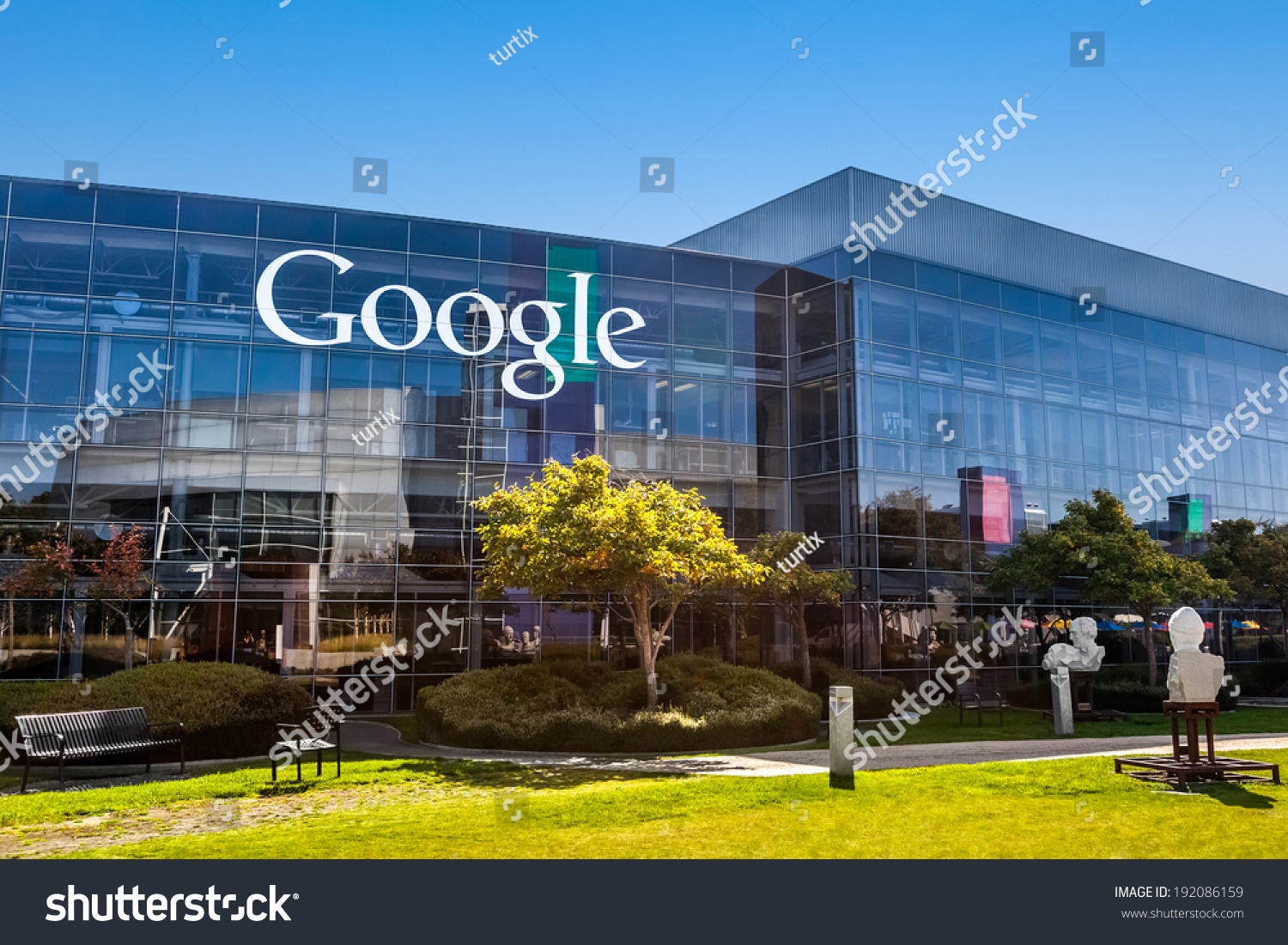 Mountain view causa october 12 2013 stock photo 192086159 for Exterior view of building