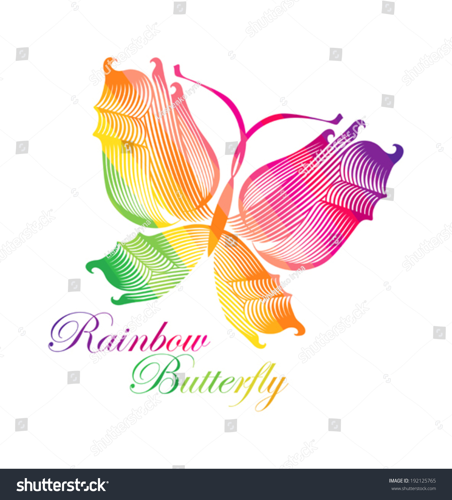 Text butterfly symbol gallery symbol and sign ideas rainbow butterfly symbol butterfly rainbow colors stock vector rainbow butterfly symbol butterfly rainbow colors buycottarizona buycottarizona