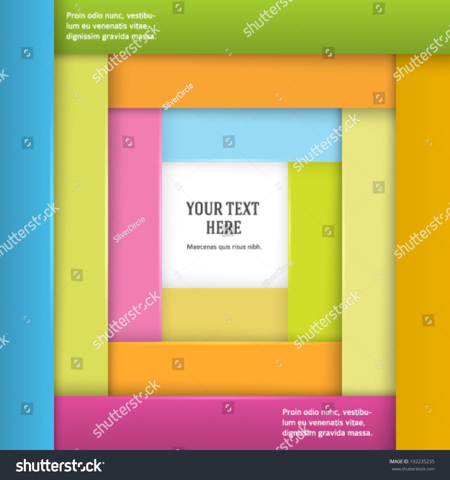abstract geometric frame border background design stock vector abstract geometric frame border background design elements for cover page magazine business flyer or