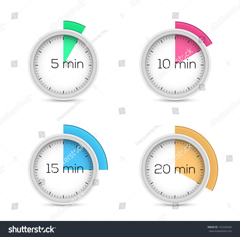 set timer for 15 minutes