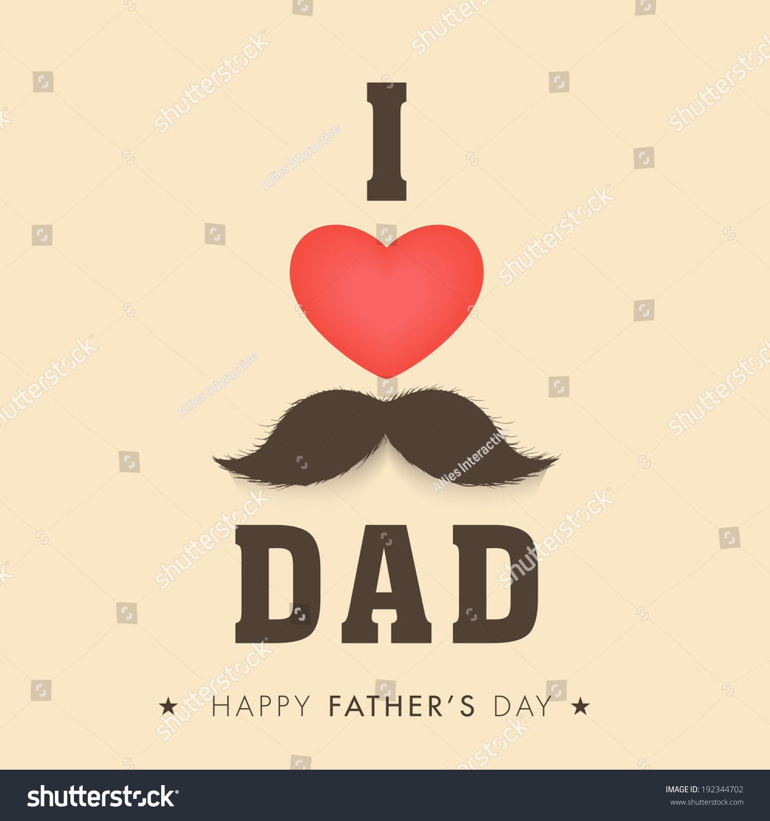 D ad poster design - Poster Banner Or Flyer Design With Stylish Text I Love Dad And Red Heart Shape