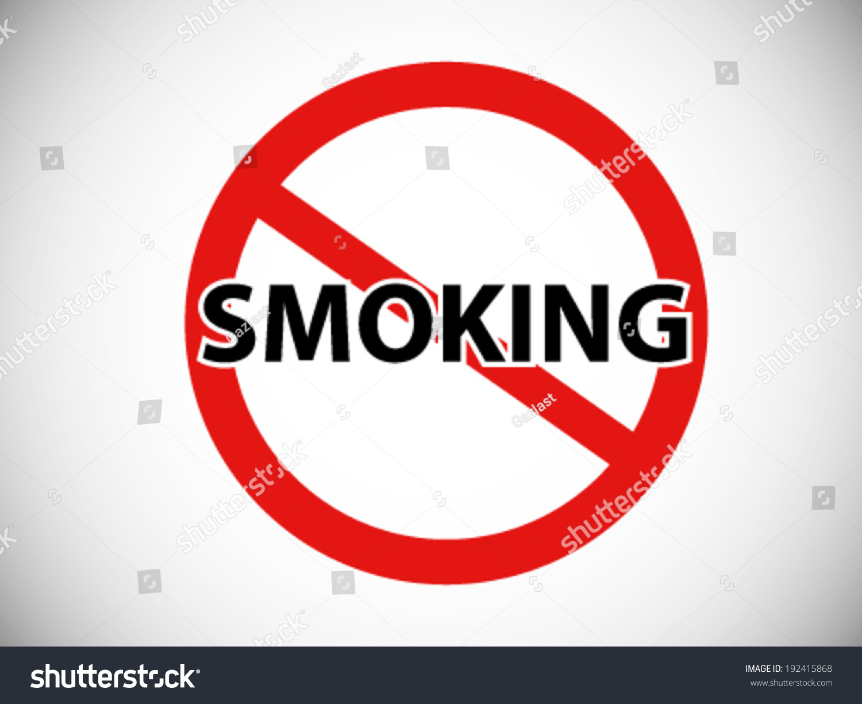 Forbidden symbol no smoking stock vector 192415868 shutterstock forbidden symbol no smoking biocorpaavc Image collections