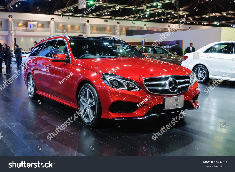 Nonthaburi thailand march 31mercedes benz e300 stock photo for Mercedes benz thailand