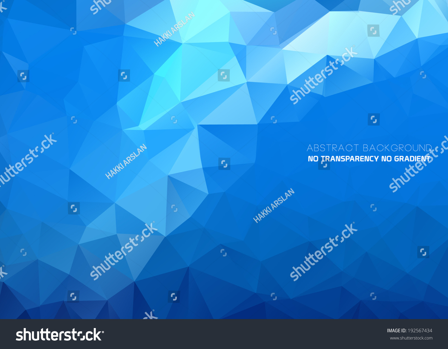 3d Blue Abstract Mesh Background Circles Stock Vektor: Abstract Triangular Blue Background Polygonal Abstract