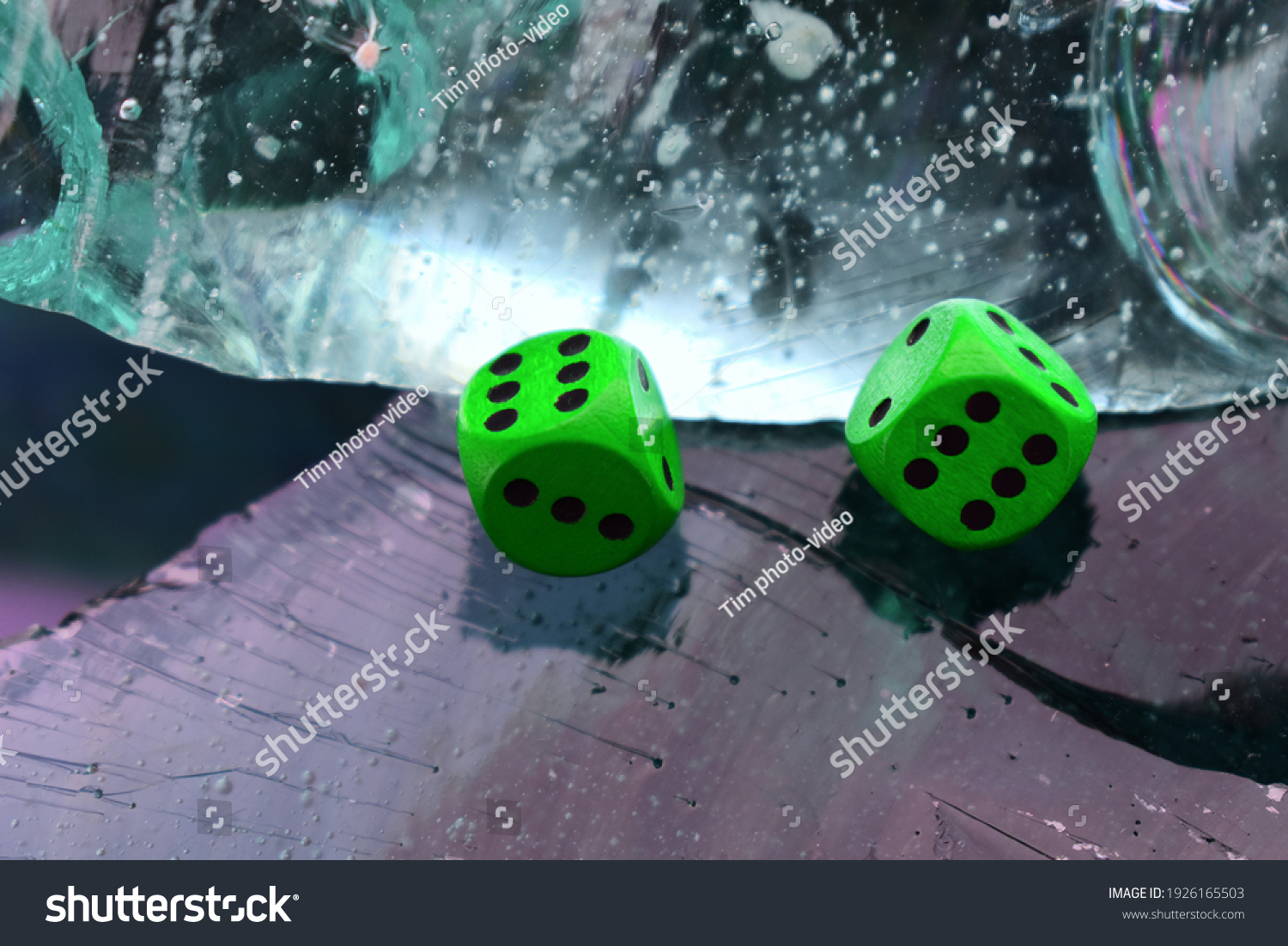 stock-photo-dice-green-paired-aquamarine