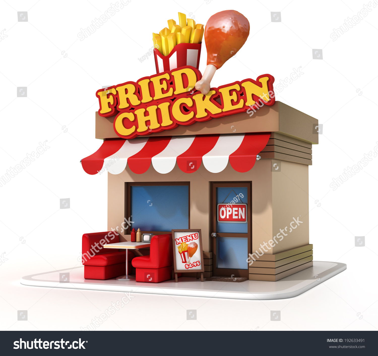 how to open a fried chicken restaurant
