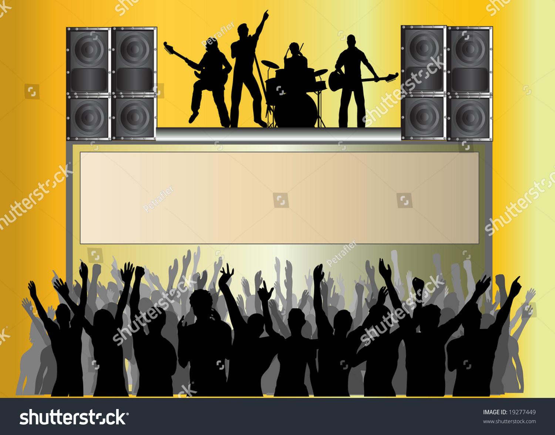 Pics photos rock concert background - Rock Concert Template Background Forh Ndsvisning Legg Til I Lysbordet